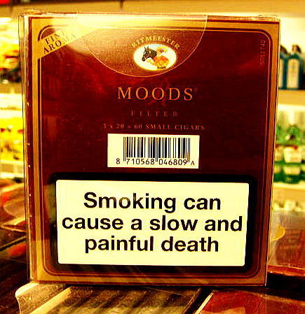 Smoking can cause a slow painful death
